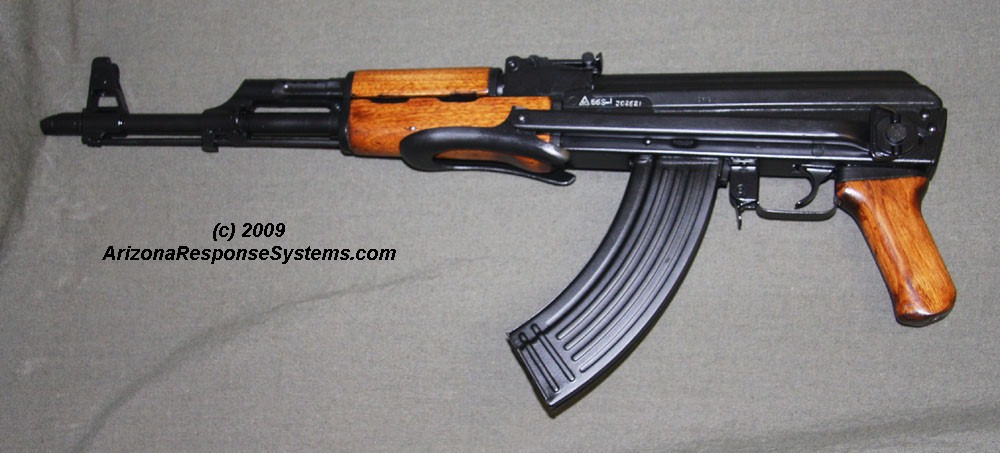 METACOL III™ Satin Black. Norinco Type-56S folding-stock AK47