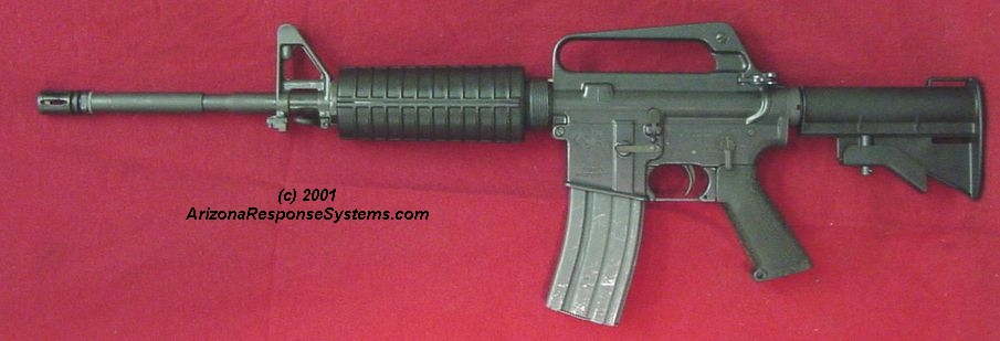 METACOL III™ Gray. Retro AR-15 carbine