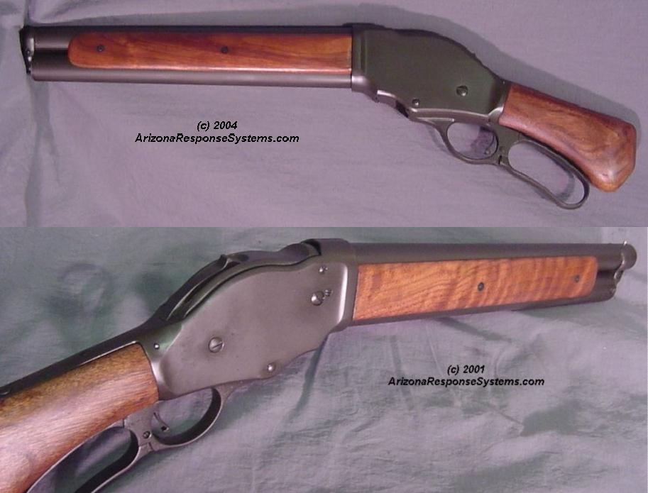 "METACOL III™ Classic Patina™. 1887 ""Terminator"" short-barrel shotgun"