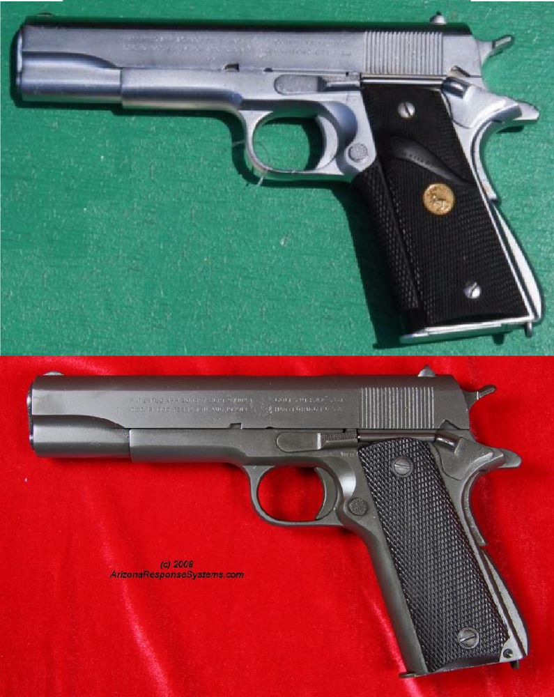 METACOL IV™. 1911. Before and after.